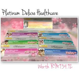 Pathlab Platinum Deluxe Healthcare Blood Test