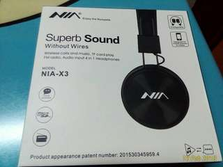 Brand New NIA 4 in 1 headset .