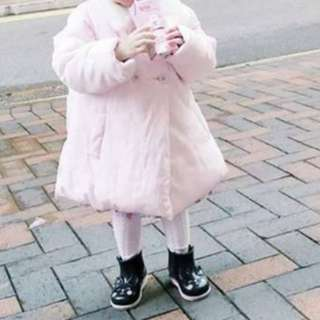 Pink coat jacket
