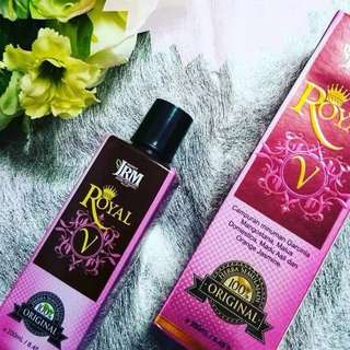 READY STOCK💕ROYAL V JRM / 250ml.  Processing Proceed Upon Full Payment Received Via Bank Transfer
