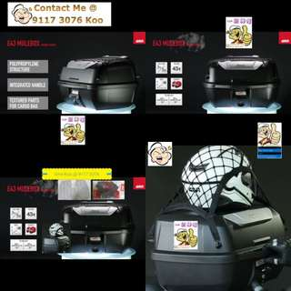 1202---GIVI BOX E43 NTL Mulebox For Sale !!!Brand New (YAMAHA, Honda, SUZUKI, ETC)