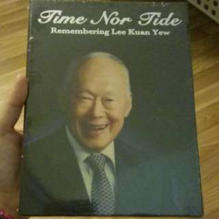 Time Nor Tide Remembering Lee Kuan Yee DVD