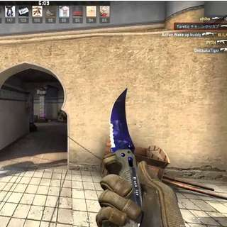 Selling flip knife doppler 75% market price