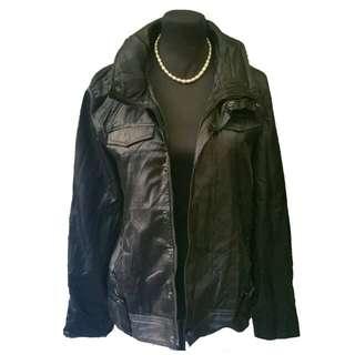 Leatheret jacket