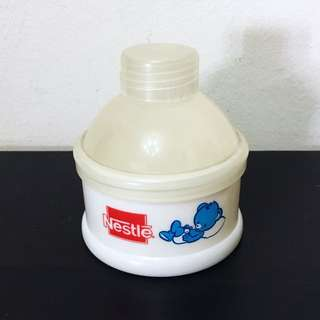 Nestle milk powder container