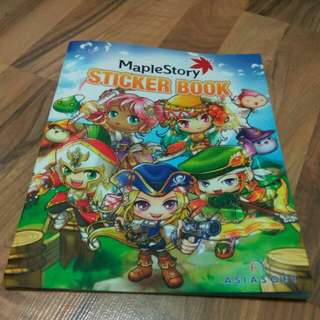 Maplestory Sticker Book