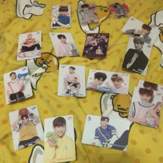 Wanna One/Produce 101 yes card,飯卡($1@1)