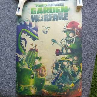 [2 for $3] Plant vs Zombies Posters