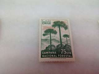 Chile Stamp #A28