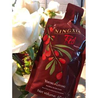 Young Living Ningxia Red, 2oz Singles offer your daily boost of pure essential oils! All natural and non-toxic