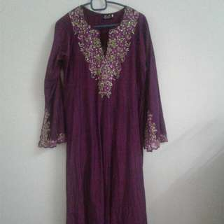 Kurung Cotton Manik