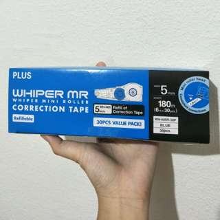Whisper mr correction tape refill (5mm)