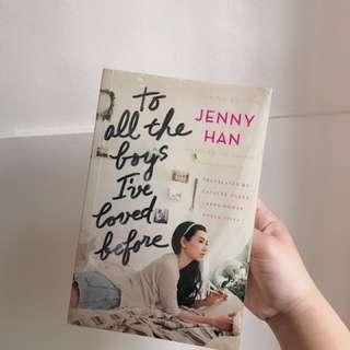 Jenny Han// filipino edition