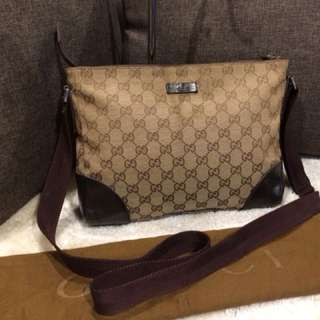 Authentic Gucci Sling Bag With Dustbag