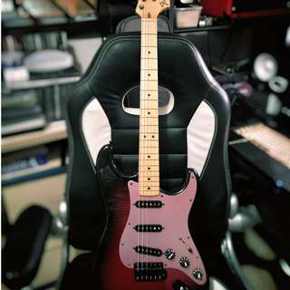 Fender Japan Ken Stratocaster Galaxy Red (Limited production)