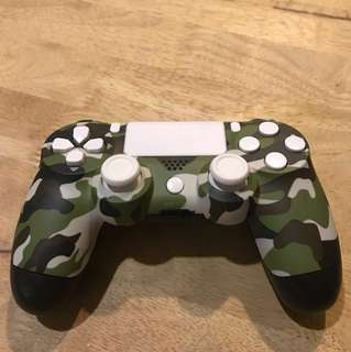 Modify your PS4 controller Camouflage white.
