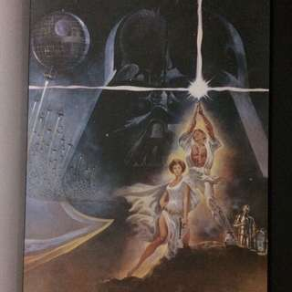 """Poster # 1 From """"Star Wars A Poster Collection"""""""