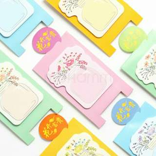 [Fast deal clearance] 30 Standing flower post it