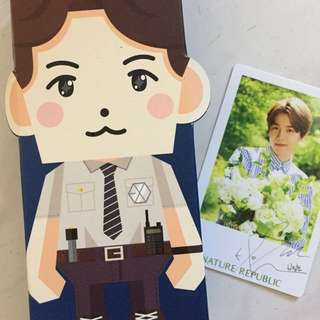 [WTS]EXO BaekHyun Nature Republic Box+Photocard