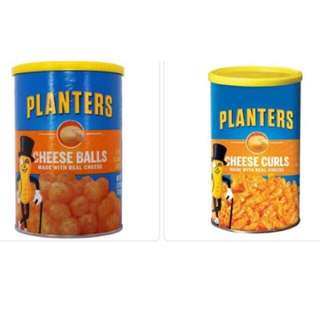 Planters Cheese Curls and Cheese Balls