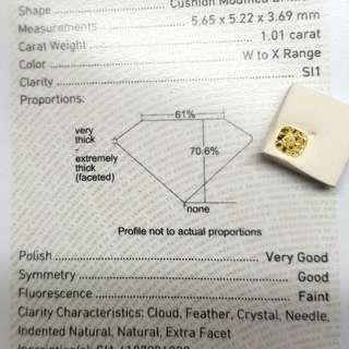 Gia 鑽石一卡