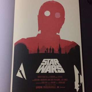 "Poster # 3 From ""Star Wars A Poster Collection"""