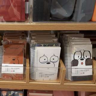 We Bare Bears Note Book