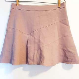 新貨🌸粉色半截短裙pink skirt