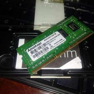 DDR3-1333 SO DIMM RAM 2GB