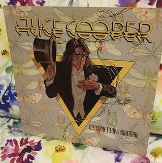 Alice Cooper Lp vinyl - welcome to my nightmare