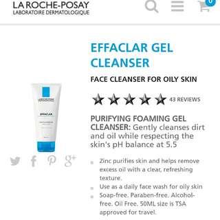 Effaclar Purifying Foaming Gel Cleanser