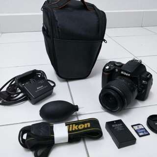 Nikon D40 with FREE blower