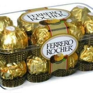 Coklat ferrero rocher kotak isi 16 T16