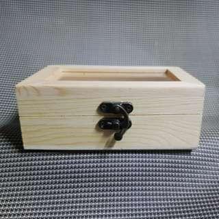DIY Wooden See through Treasure Chest