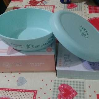 🚚 7-11法國風造型餐盤(薄荷綠)
