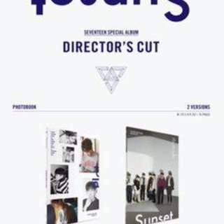 [CHEAPEST GO] Seventeen Director's Cut Album