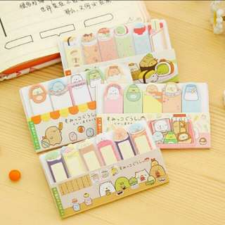 [Fast Deal Clearance] 50 Sanrio Sumikko gurashi Page Marker From Japan