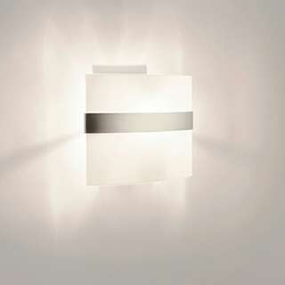 Philips QWG305 Matt Chrome Wall Light