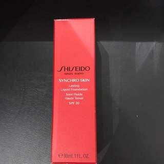 Shiseido liquid foundation