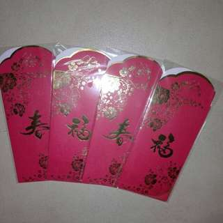4pkts CNY Red Packet