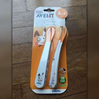 Avent feeding spoon. For 6m+ #CNY88