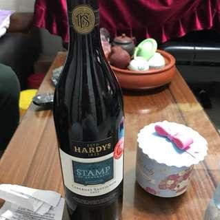 紅酒 hardys 1853 STAMP 2017