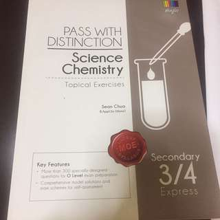 Secondary 3/4 Express Science Chemistry Exercises.