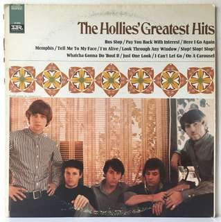 The Hollies ‎– Greatest Hits (1967 US Original - Vinyl is Excellent)