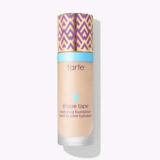 Tarte: shape tape hydrating foundation in light sand