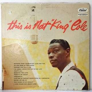 "Nat King Cole – This Is Nat ""King"" Cole (1957 US Original - Vinyl is Excellent)"