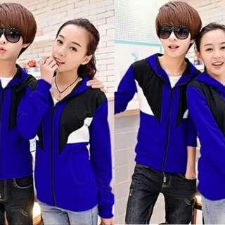 Jaket Couple FOKUS benhur Baju pasangan cowok cewek Warna kombinasi