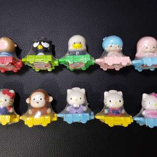 Nestle Sanrio 2005 Figures 雀巢Sanrio公仔一套10隻