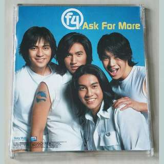 CD Single: F4 - Ask For More