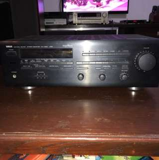 Yamaha Stereo receiver. Amplifier. Model RX-V660